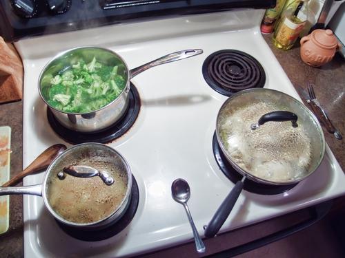 Време за топлинната обработка на различните продукти и меса