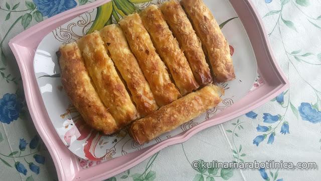 Пурички със сирене и яйца