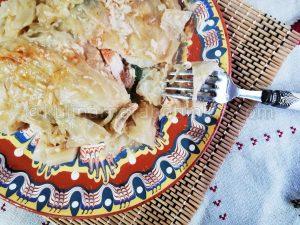 Пържоли в зелеви листа / Царски сарми