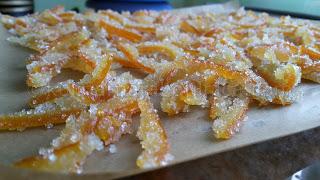 Рецепта за захаросани портокалови корички