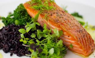 Сьомга - една от най-полезните риби