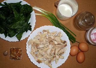 Рецепта за киш с пъстърва, спанак и орехи
