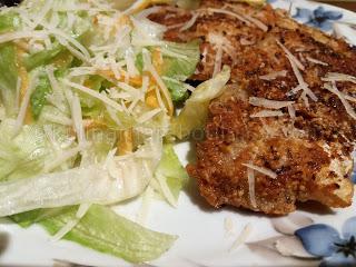 Рецепта за филе от хек с бадемова коричка и пармезан
