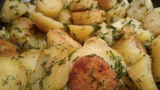 Рецепта за картофи соте с копър и чесън