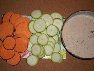Рецепта за огретен с тиквички и сладки картофи
