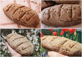 Пълнозърнест хляб с орехи и семена - рецепта