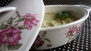 Пастет от броколи и крем сирене - рецепта