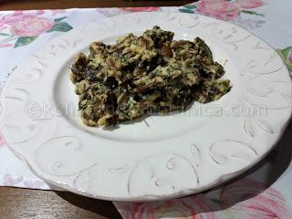 Пържени гъби с крем сирене - рецепта
