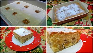 Рецепта за бърз сладкиш с орехи