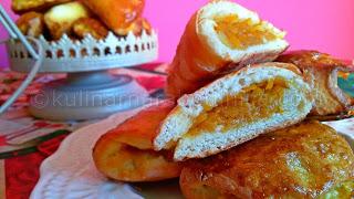 Пирожки с ябълки и тиква