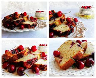 Полски кекс с череши - рецепта