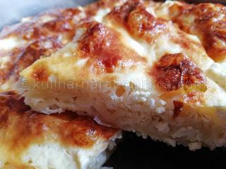 Баница със сирене и масло - рецепта