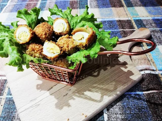 Панирани пъдпъдъчи яйца със соев сос и корнфлейкс - рецепта