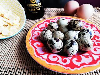 Рецепта за панирани пъдпъдъчи яйца с корнфлейкс и соев сос