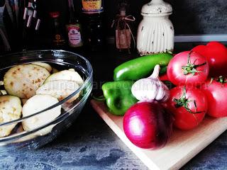 Рецепта за средиземноморска салата със соев сос