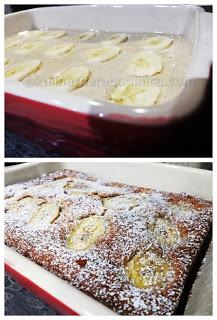 Бананов сладкиш с фъстъчено масло и заквасена сметана - рецепта и начин на приготвяне