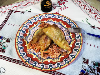 Пълнени чушки с кайма и ориз - рецепта