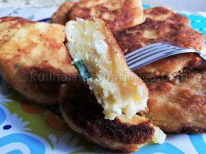 Рецепта за пържени картофени кюфтета със сирене и кашкавал