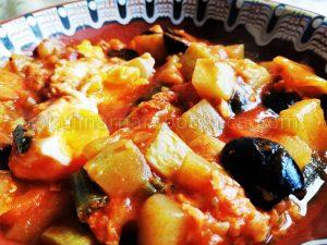 Манджа със зеленчуци - рецепта