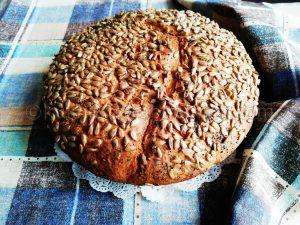 Рецепта за хляб в йенска тенджера с брашно от лимец