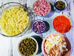 Рецепта за руска салата Оливие