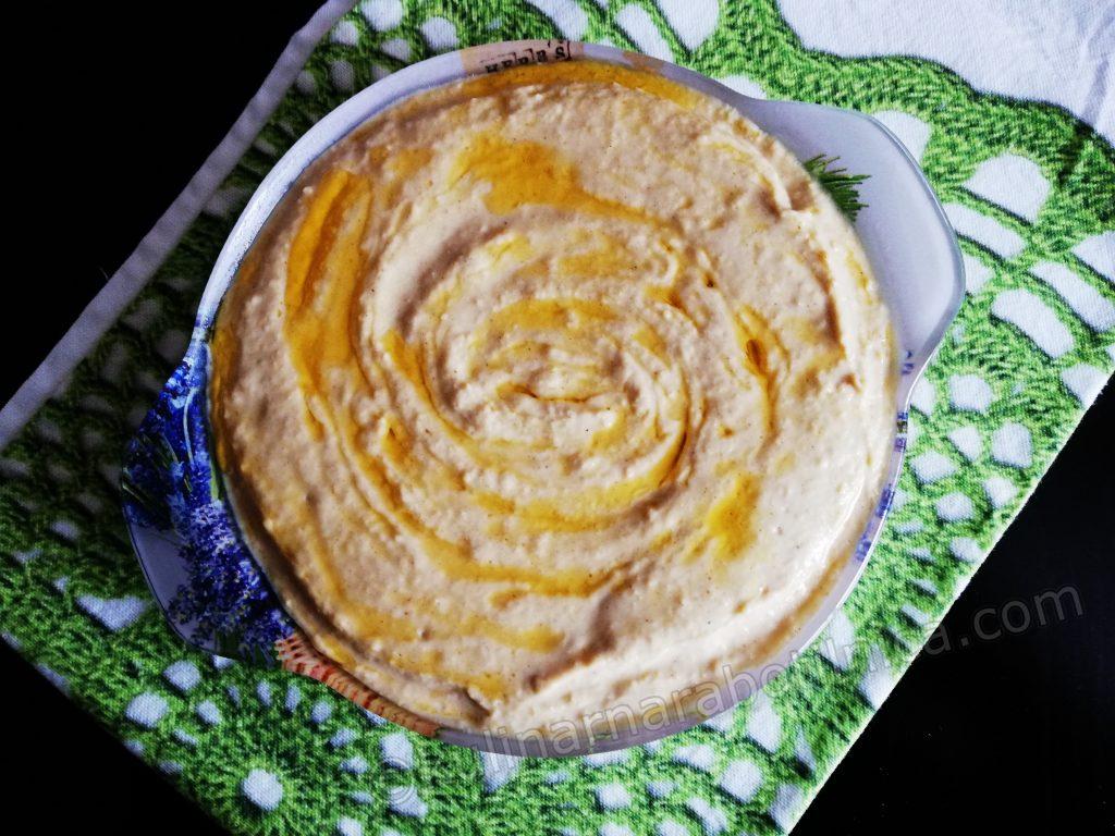 Хумус по рецепта на Джейми Оливър
