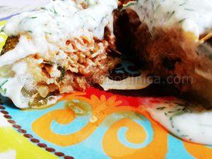 Пълнени тиквички с кайма и ориз - рецепта
