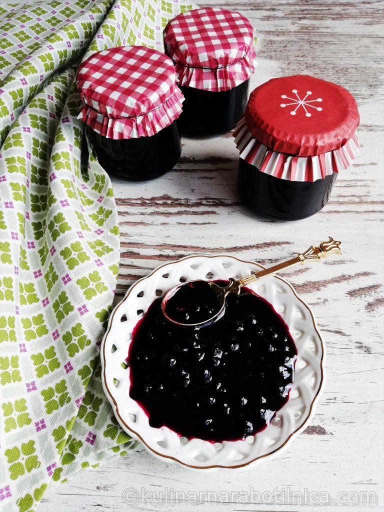 Сладко от боровинки - рецепта