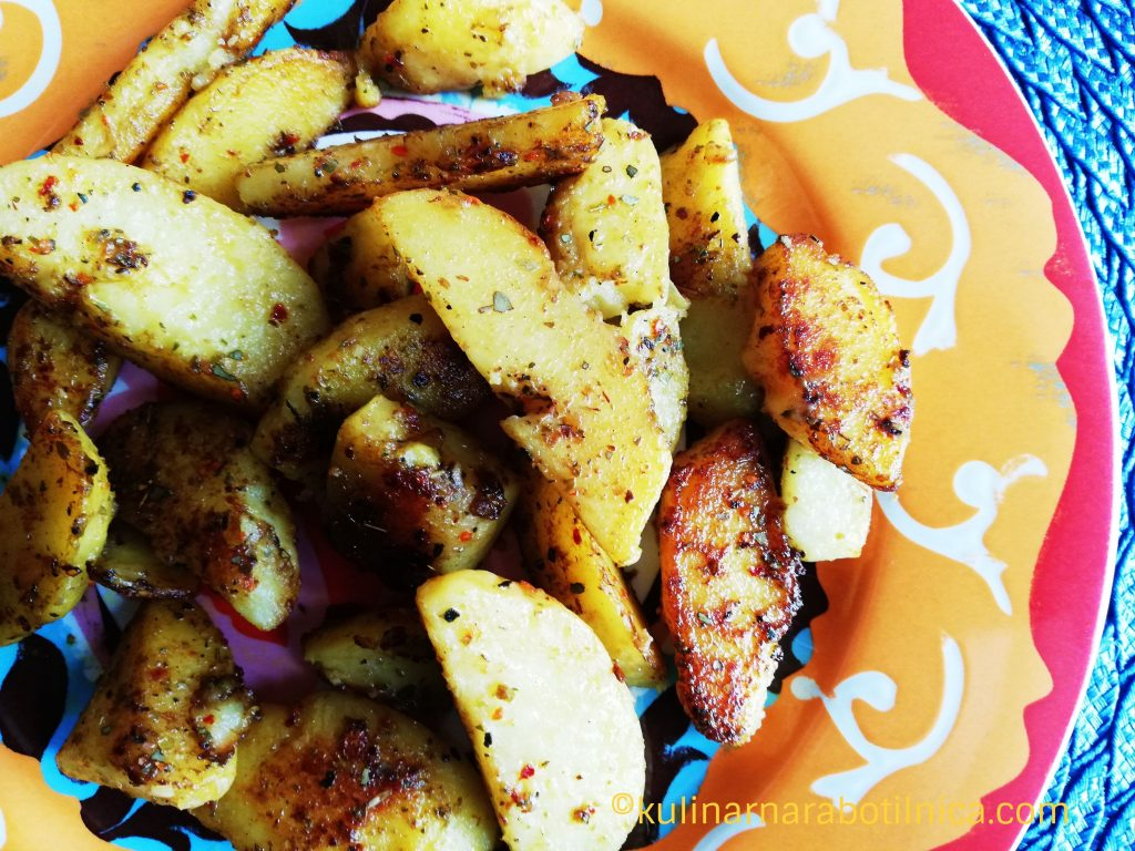 Картофи соте с подправки