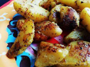 Картофи соте с подправки - рецепта