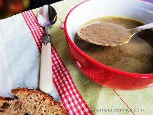 """Крем супа от леща """"Белуга"""" със сметана"""