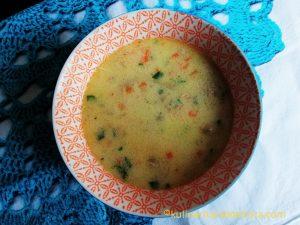 Вкусна пилешка супа със застройка - рецепта