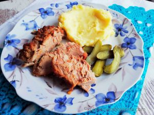 Ароматно печено свинско на фурна