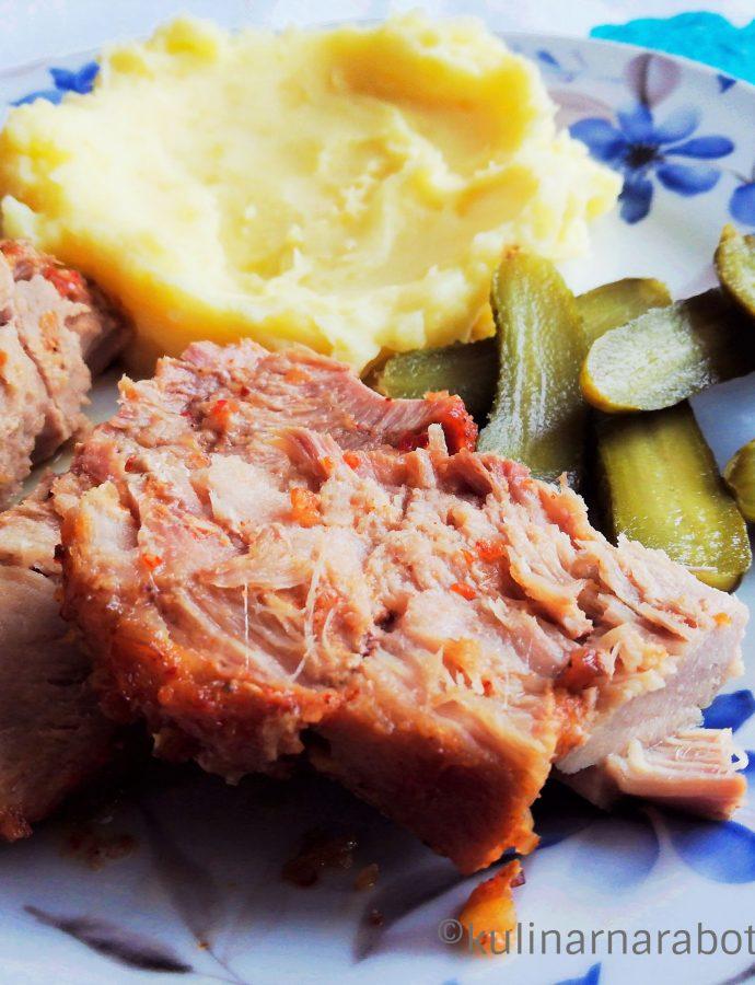 Ароматно свинско печено