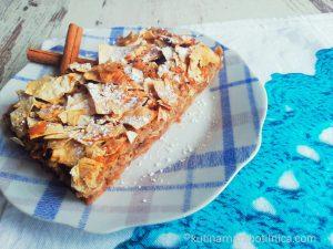 Лесен щрудел с ябълки и юфка - рецепта