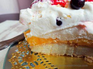 Лимонова торта Павлова - рецепта