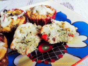 Омлет-мъфини с броколи - рецепта