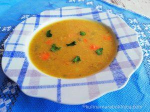 Рецепта за супа от червена леща