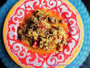Капуска - рецепта за турска яхния със зеле